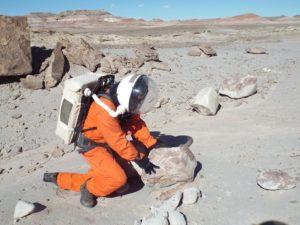 Crew Geologist Clarke