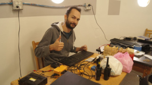 Alexandre happy for his project first milestone