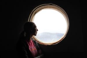 Anastasiya dreaming of Mars