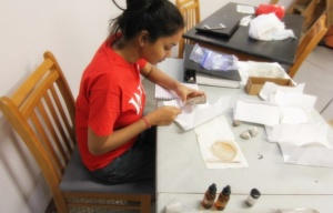 anushree-at-work