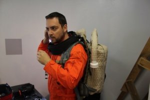 crew-engineer-claude-michel-getting-ready-for-eva