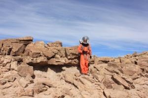 Crew Geologist Dr. Clarke
