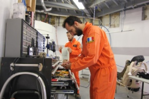 Preparation for the engineering EVA