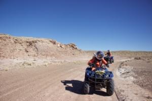 Driving ATV