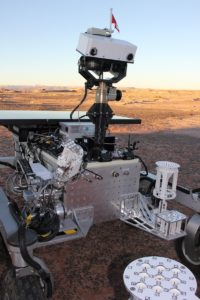 Canadian  mars exploration science rover