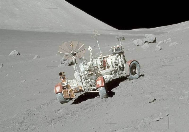Apollo 17 Lunar Roving Vehicle (NASA).